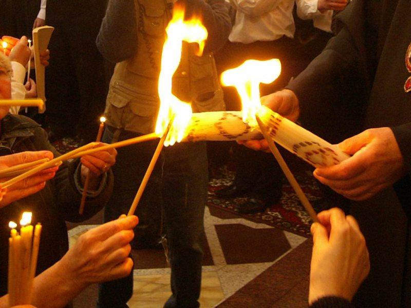 До херсонців прилетить благодатний вогонь