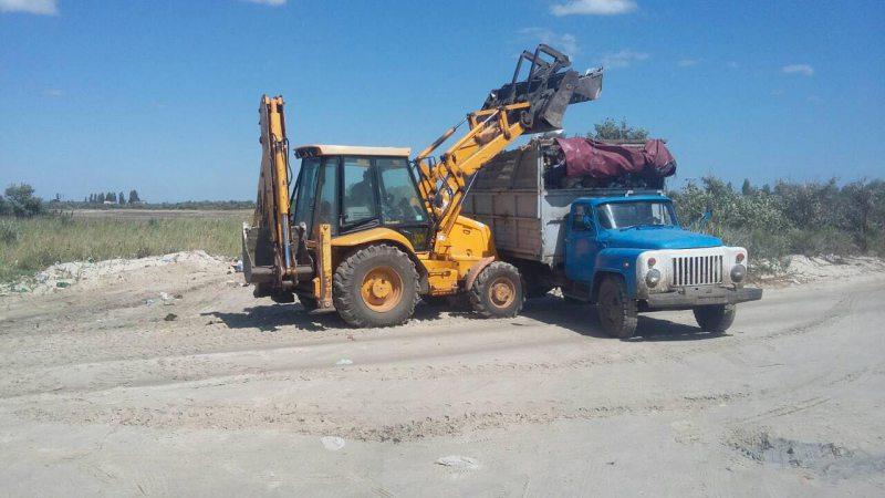 З Устричного озера вивезли 6 машин сміття