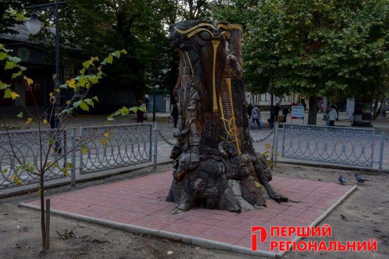 В Херсоне гибнет уникальный арт-объект