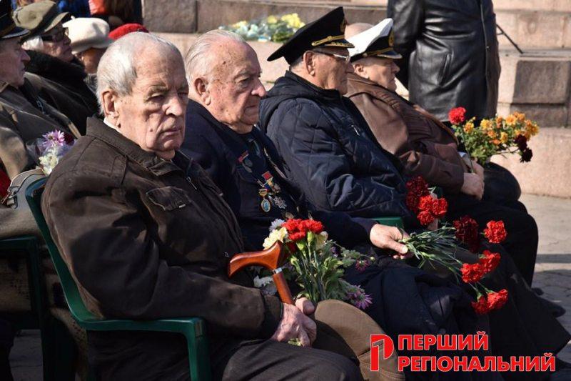На Херсонщині відзначили 75-річчя визволення України від нациських загарбників