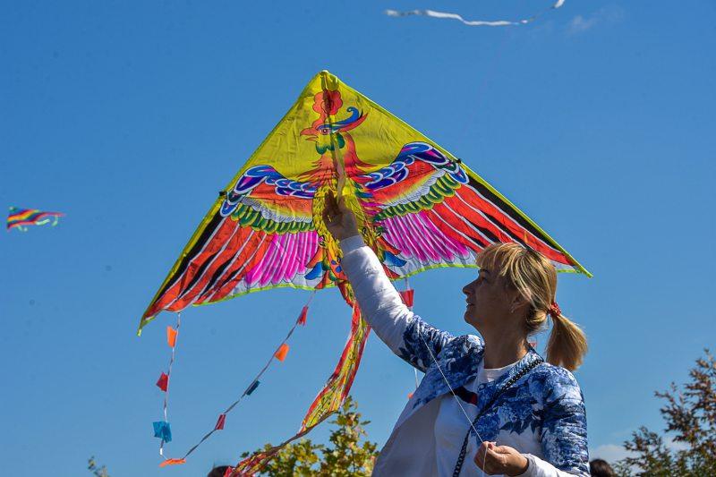 Херсонцы запускали воздушных змеев ради мира в Украине. ФОТОРЕПОРТАЖ