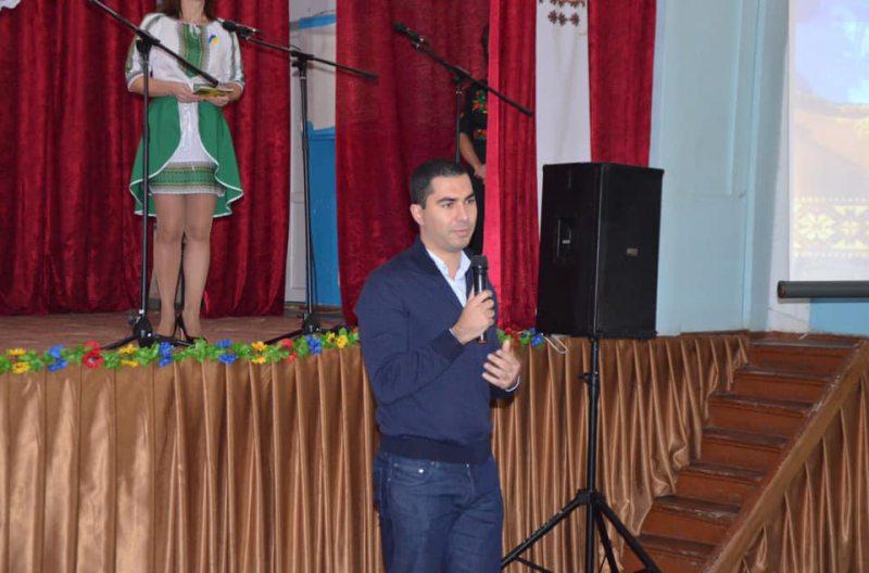 Голова Роздольненської ОТГ привітав Чорноморівку з Днем села