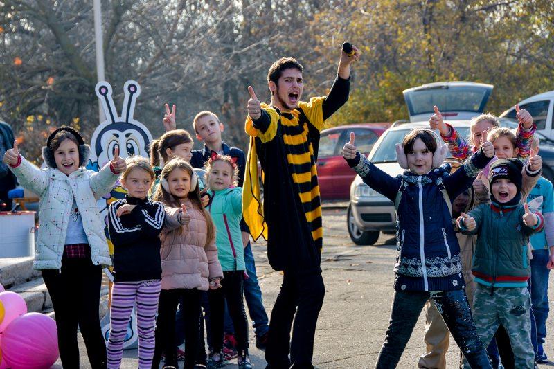Вперше у Херсоні відбувся ярмарок меду від місцевих бджолярів
