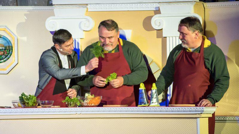 Олександр Книга презентував херсонцям рецепт «еротичного» салату