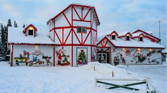 Місто, у якому цілий рік Різдво