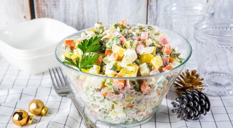 Цена оливье: сколько стоит херсонцам приготовить главный новогодний салат