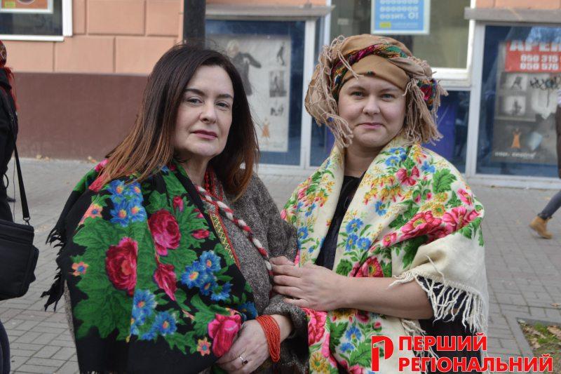 В Херсоне прошел женский флэшмоб