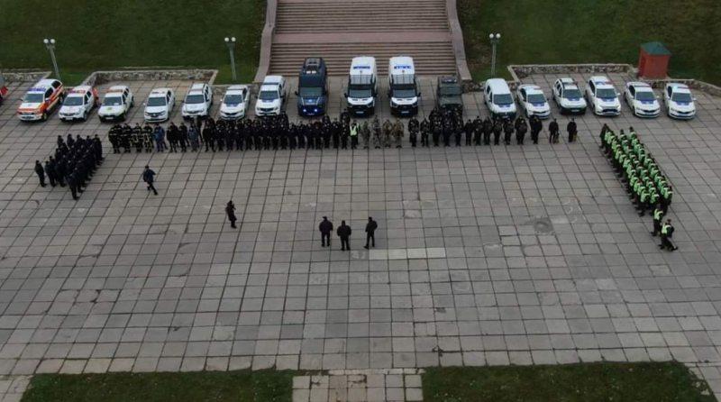 Поліція Херсонщини посилила заходи безпеки на новорічні та різдвяні свята