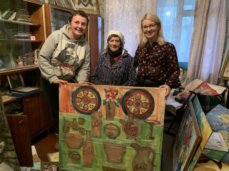 У Херсоні живе 90-річна художниця-самородок