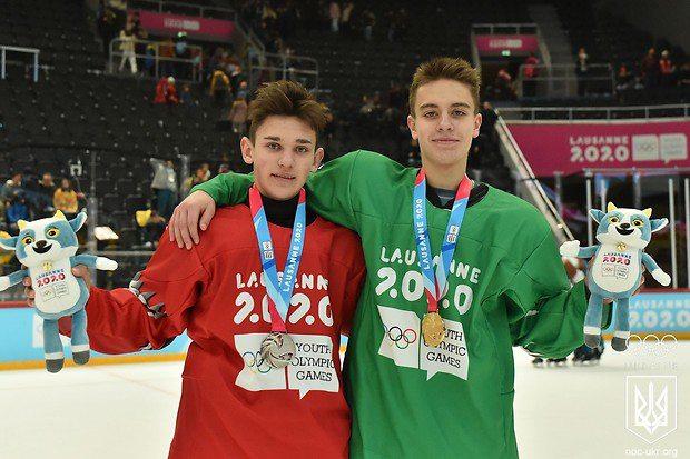 Українські хокеїсти вибороли «золото» і «срібло» на юнацькій зимовій Олімпіаді 2020