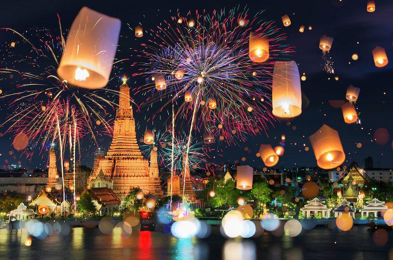 Гучні феєрверки та свято ліхтарів: як святкують Китайський Новий рік у східних країнах