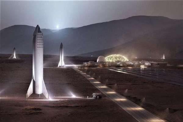 Маск хоче відправити на Марс мільйон людей до 2050 року