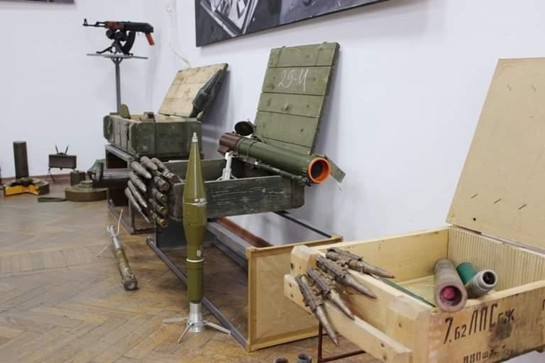 «АТО. Відголоски війни»: у Херсоні відкрилась виставка-експозиція