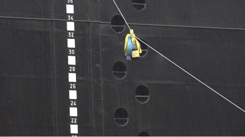 На новый танкер херсонские судостроители потратили 1200 тонн высококачественной стали
