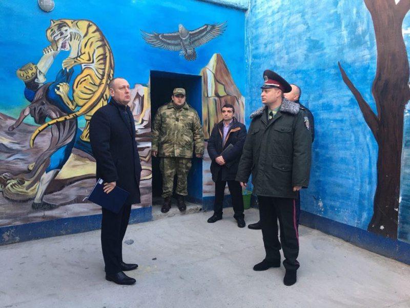 Прокурор області Ігор Івченко провів особистий прийом у Херсонському слідчому ізоляторі