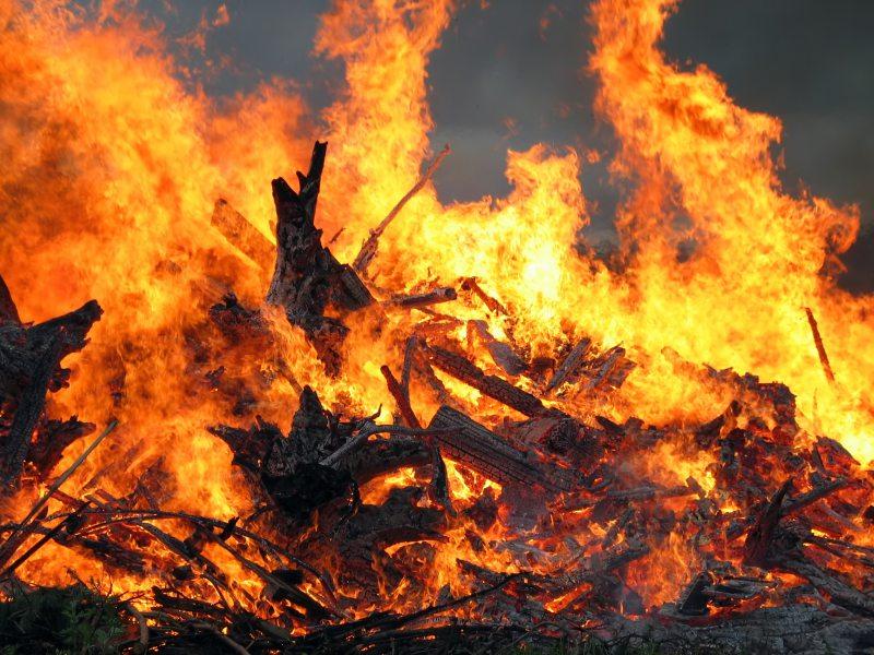 На Херсонщині внаслідок пожежі загинув чоловік
