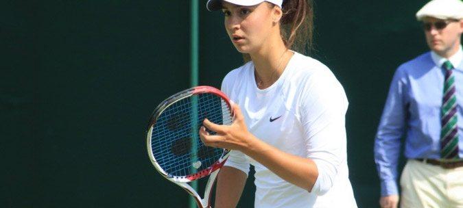 Новокаховчанка Ангелина Калинина вышла в полуфинал теннисного турнира в США