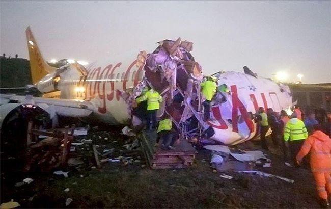 В аеропорту Стамбула розбився літак лоукостера Pegasus