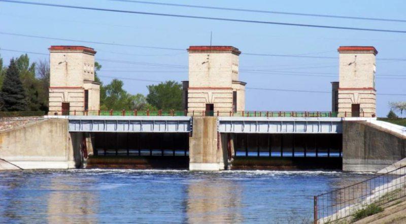 На Північно-Кримському каналі відбувся весняний пуск води