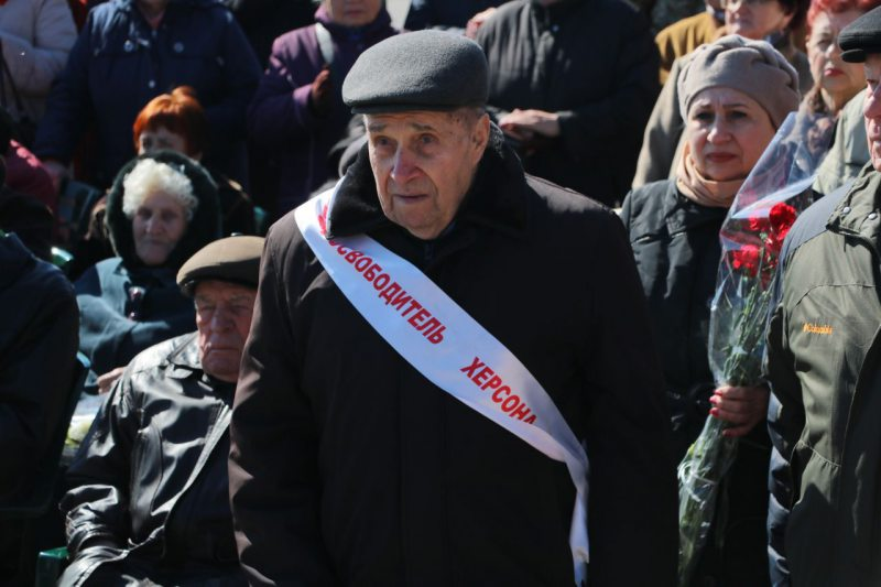 Владимир Сальдо поздравил с Днём освобождения Херсона от нацистских оккупантов