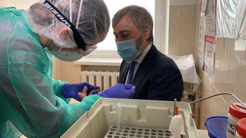 Вадим Новинський пройшов тест на коронавірусну інфекцію