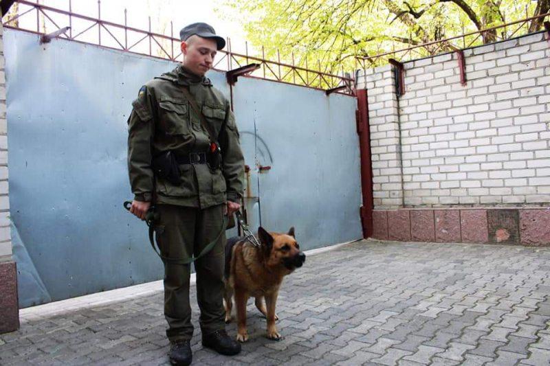 """""""Понад рік рука до лапи"""", або історія гвардійця та службового собаки"""