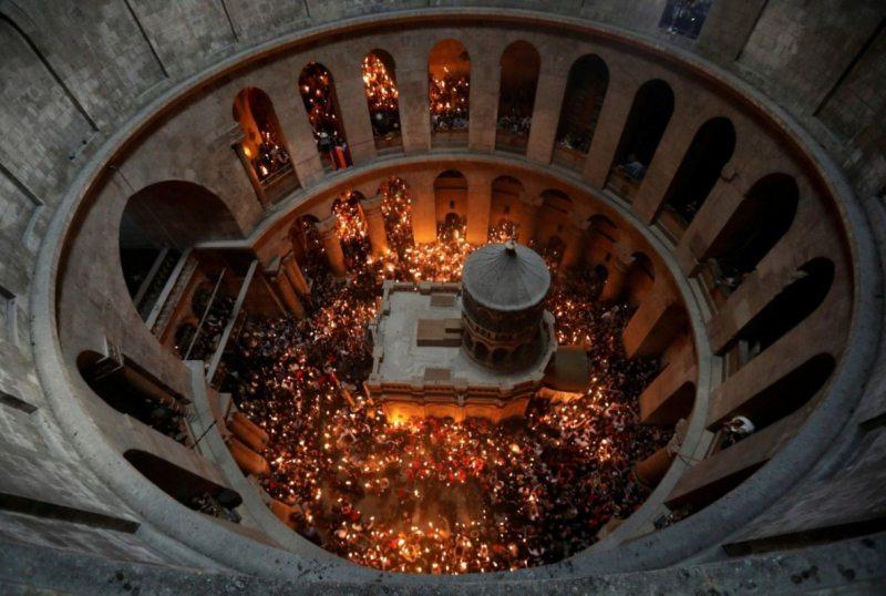 Сходження Благодатного вогню в Єрусалимі-2020: онлайн