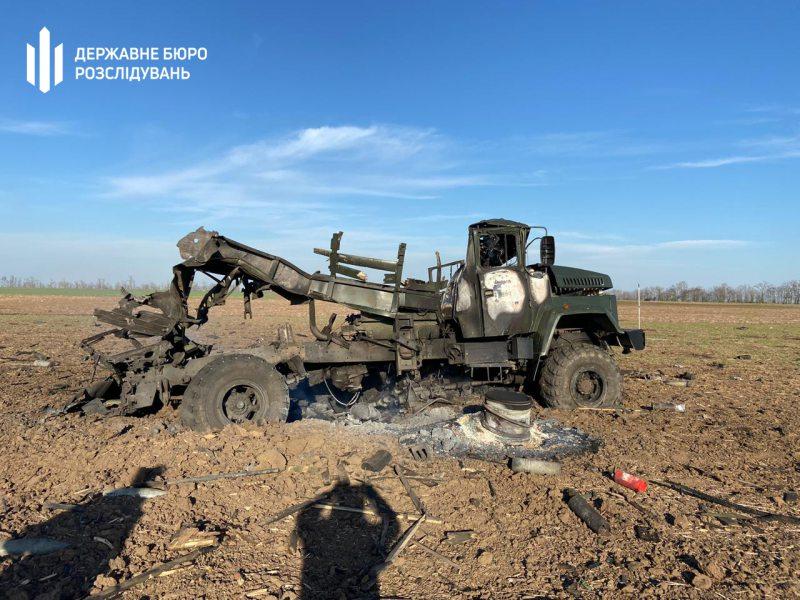 На Херсонщині вибухнула військова вантажівка з боєприпасами