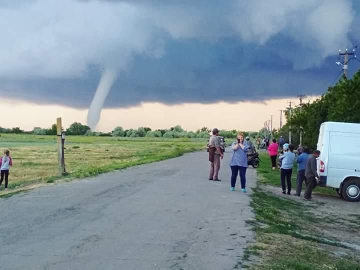 По Херсонской области прошелся торнадо