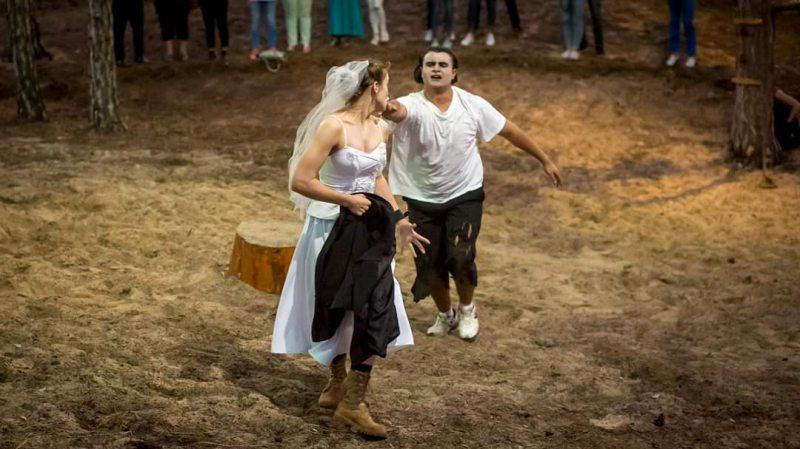 Херсонські театрали разом з глядачами подорожували лісом