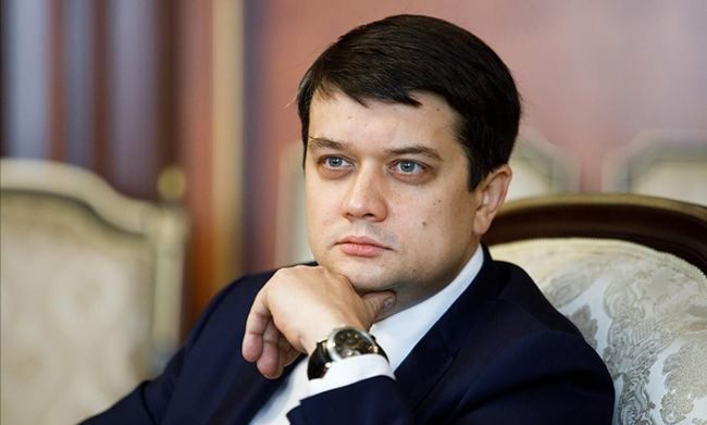 Спикер ВР Разумков дал взаймы 1 миллион долларов