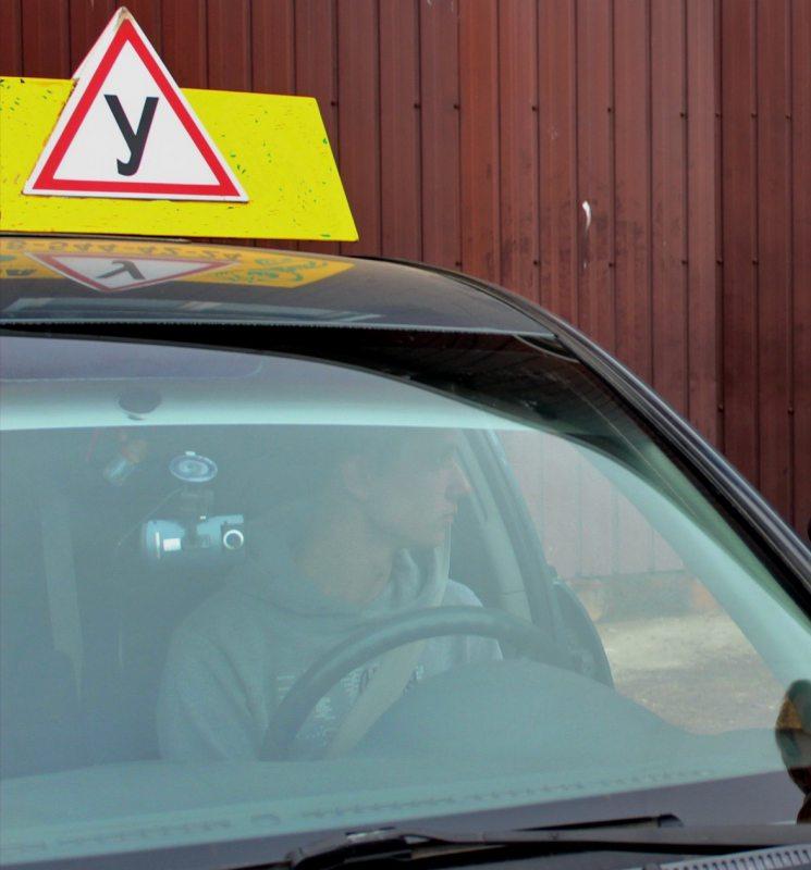 Практичний іспит на право керування авто фіксується на відео