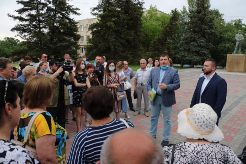 ВХерсонской ОГА создали рабочую группу, чтоб решить, сколько ОТГ целесообразно создать в Новотроицком районе