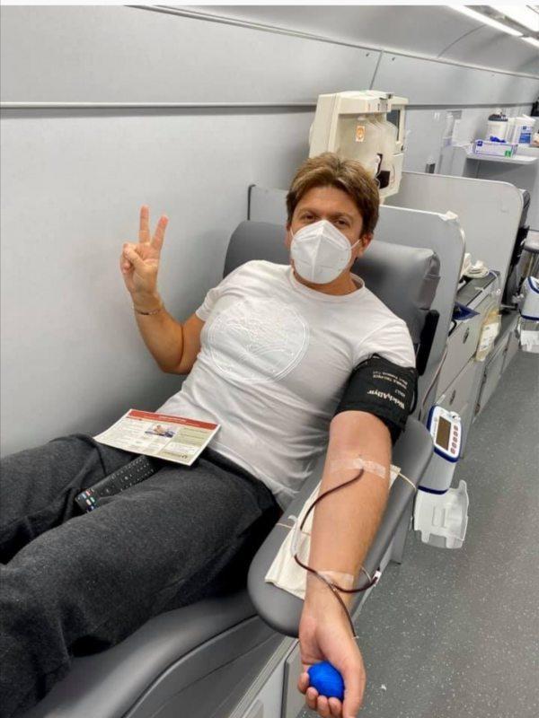 Екс-нардеп з Херсонщини став донором крові у США