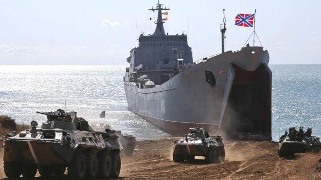 Російський наступ з Криму. Чи реальний прорив у Херсонську область