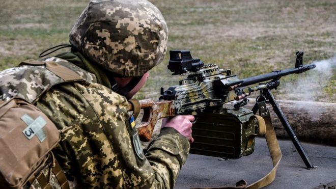 З початку перемир'я вже був обстріл, українська армія не відповіла