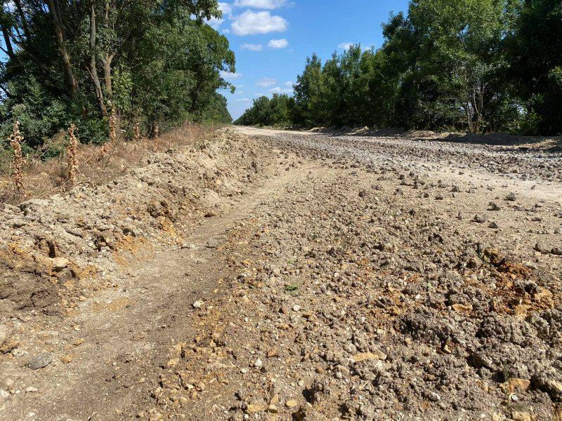 Херсонська журналістка проінспектувала «відремонтовану» дорогу