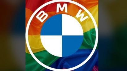 У BMW пояснили, чому змінили логотип на веселковий прапор ЛГБТ