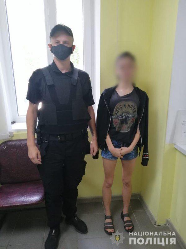 У Новій Каховці ювенальні поліцейські за кілька годин розшукали 16-річну дівчину, яка втекла від опікунів до знайомого
