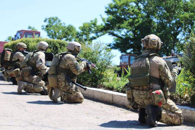 Підрозділи СБУ Херсонської області провели антитерористичні навчання