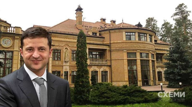 Зеленський переїхав у державну резиденцію до Конча-Заспи