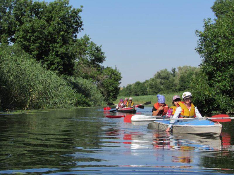 Херсонська молодь здійснила туристський спортивний похід Дніпром