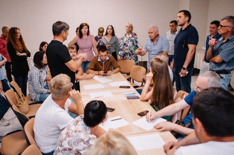 В Херсоне программу развития города обсуждали более трёх часов