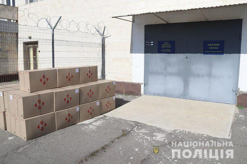 Херсонський суд скасував арешт майже 21 тисячі масок, які під час карантину намагалися вивезти в Ізраїль