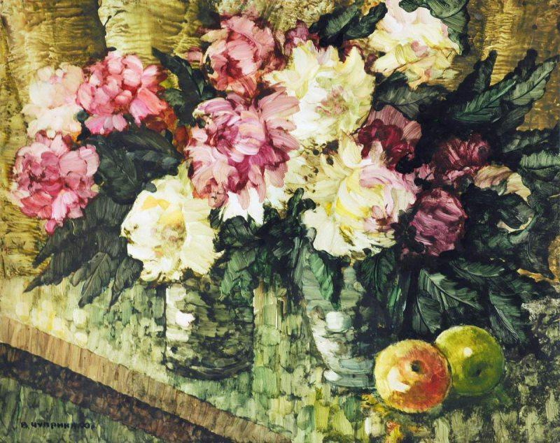 У Херсоні музейники презентували виставку до 80-річчя відомого художника Володимира Чуприни