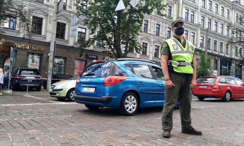У Києві терорист захопив бізнес-центр