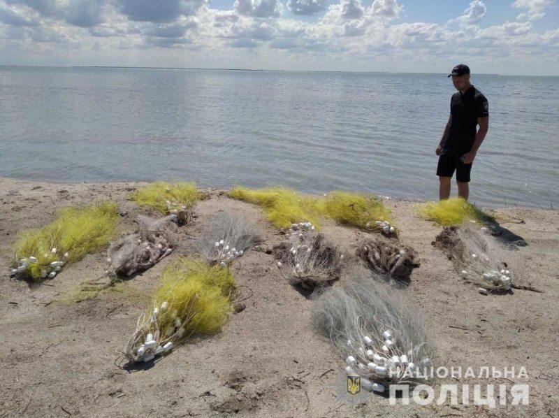 В Генічеському районі поліція на воді попередила браконьєрський вилов водних біоресурсів на 26 тисяч гривень