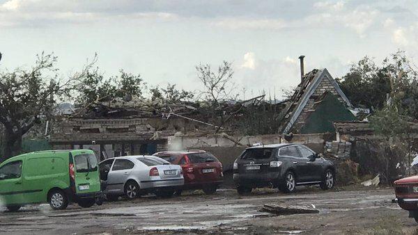Понад 200 будинків постраждали від негоди на Херсонщині
