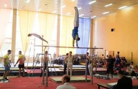 Херсонські гімнасти стали бронзовими призерами на чемпіонаті України