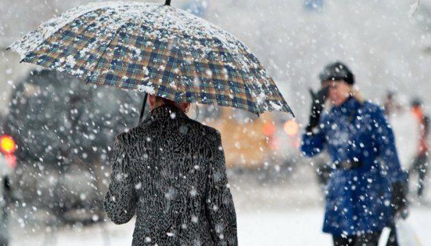 На Херсонщині очікується мокрий сніг та ожеледиця
